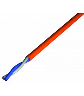Câbles électrique CR1/C1 Anti-feu 2X1.5 non-blindé (100 mètres)
