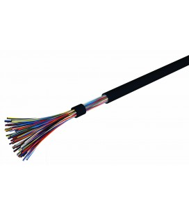 Câble téléphonique série 88 8 paires 6/10 PE noir (chutes)