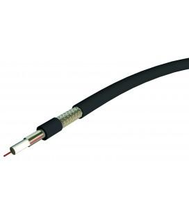 Câble coaxial d'antenne télé 11PATC noir (100 mètres)