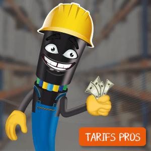 Professionnel ? Bénéficiez de tarifs préférentiels !